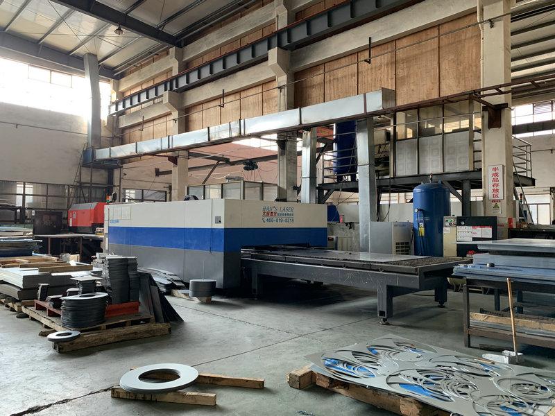生产设备原材料激光切割
